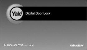 Yale digital door lock image 6
